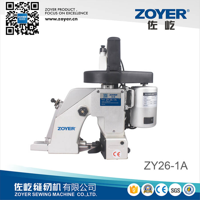 ZY-26 Portable Bag Closer Zoyer Jahit Packing Mesin Penyegel (ZY-26)